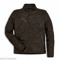 DUCATI Dainese DOWNTOWN C2 Lederjacke Leder Jacke Leather Jacket braun NEU