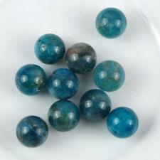 10 perles de gemme de 8 mm en apatite, pierre naturelle-vtp178