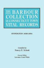 The Barbour Collection of Connecticut Town Vital Records. Volume 43: Stonington