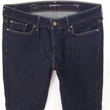 Ladies Womens Levis SLIGHT CURVE BOOTCUT Stretch Blue Jeans W31 L30 UK Size 12