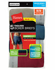 Hanes 5 Pack Men's Underwear TAGLESS Boxer Briefs with Comfort Flex Waistband