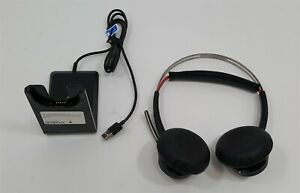 Plantronics Voyager Focus UC B825 Stereo Bluetooth Noise Cancelling PC Headset