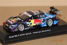 Audi RS 5 DTM 2016 M.Eckström #5 1:43 Spark/Audi neu & OVP 502.16.001.32