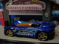 2015 Hot Wheels MONOPOSTO ✿Blue/Orange; gold pr5✿Multi Pack Exclusive✿New LOOSE✿
