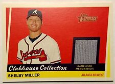 2016 Topps Heritage Shelby Miller Clubhouse Collection Jersey Relic Braves/Dback