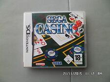 JEU NINTENDO DS  3DS : SEGA CASINO   I57