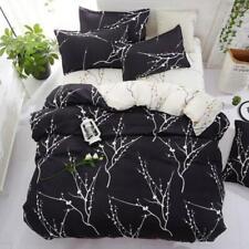 3D Art Flowers NAO7076 Bed Pillowcases Quilt Duvet Cover Set Queen King Fay