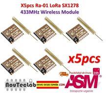 5pcs Ra-01 LoRa SX1278 433MHz Wireless Spread Spectrum Transmission Module Ra01