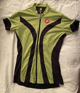 Castelli Cycling Jersey Womens Green