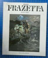FRANK FRAZETTA Book Three SC Betty Ballantine 1981 Bildband englisch B-27353