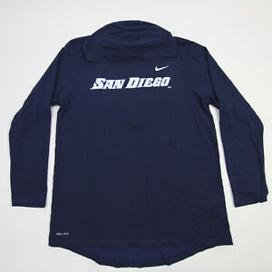 San Diego Toreros Nike Dri-Fit Long Sleeve Shirt Men's Navy New with Defect
