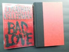 SIGNED 1st ed BAD LOVE JONATHAN KELLERMAN 1994 novel first printing dust jacket