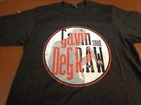 Gavin Degraw Tour Concert T Shirt   Black  Small  Tee   F12