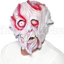 Unisex Mens Womens Boys Girls Melted Face Mask Halloween Horror Terror Fire Burn