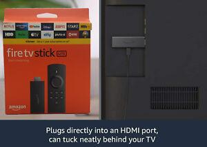 New Amazon Fire Stick Lite with Alexa Voice Remote Lite (No TV Control)-2020