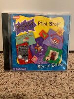 Rugrats Print Shop Special Edition 1998 CD-ROM New Sealed Windows 95/98 VINTAGE