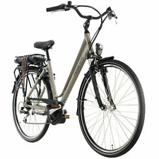 E-Bike 28 Zoll Damen Optima Deluxe beige Mittelmotor 250W Li-Ion 36V/13 Ah 130E