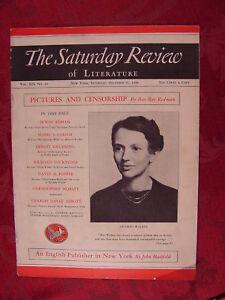 Saturday Review December 31 1938 MILDRED WALKER BEN RAY REDMAN
