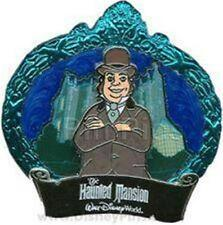 MAN With BOWLER HAT HAUNTED Mansion HAUNTS POM 2009 LE 2000 WDW DISNEY PIN