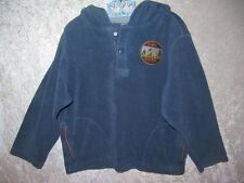 "Gymboree ""Moose Lodge"" Blue Sherpa Hooded Pullover Jacket Sweatshirt Top, 5T"