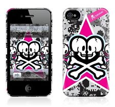 Hard Case GelaSkin- Tokidoki Camo Skulls for iphone 4/4S