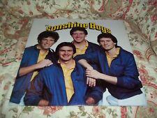 The Sunshine Boys Rare 1982 LP w/ Complete Bio/Press Kit and Photos Fast Ship!!