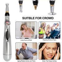 Electronic Acupuncture Pen Therapy Powerful Meridian Energy Relief Pain Tools