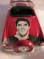 Elvis Lives Press Pass  Red 1956 Ford Thunderbird Die Cast Car 2006
