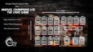 Marvel Champions LCG Custom Made Game Mat Large
