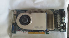 RARE Video Card AGP 8X/4X/2X, NVIDIA GeForce 6800, ASUS V9999 GE/TD/256M, leds
