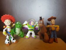 Collection of x5 TOY STORY Disney Figures 2 1/2 Inch Pixar Mattel