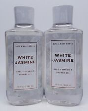 2 Bath & Body Works WHITE JASMINE Shower Gel Body Wash