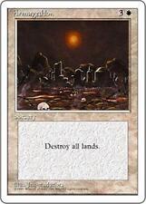 ARMAGEDDON Fourth Edition MTG White Sorcery RARE
