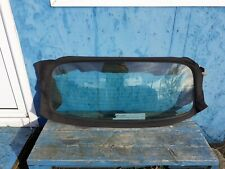 SAAB 9-3 2004-2011 CONVERTIBLE SOFT TOP ROOF REAR WINDOW GLASS