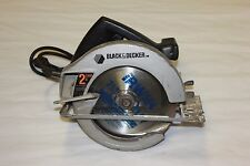 "Black and Decker 7-1/4"" Circular Saw Corded Electric 7392 104065-4 (JO) EE-9"
