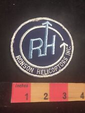 Vintage ROMSON HELICOPTERS INC Advertising Patch 80NU