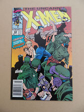 Uncanny X-Men 259 . M.Silvestri . Marvel 1990 . FN / VF