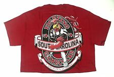 S South Carolina FIGHTING GAMECOCKS NCAA Red T-Shirt Small