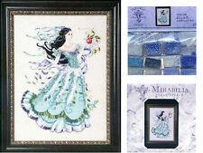 MIRABILIA Cross Stitch PATTERN and EMBELLISHMENT PACK Biancabella MD130