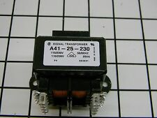 New* Signal Transformer A41-25-230 115/230 Primary 115/230V Secondary 25VA B5