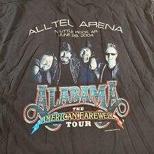 Alabama The American Farewell Tour 2004 Shirt