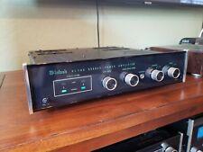New listing McIntosh Mc502 stereo amplifier