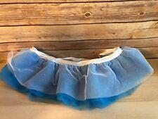 Dog Costume Large XL Halloween Blue Tutu Ballet Adjustable
