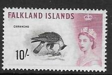 FALKLAND ISLANDS SG206 1960 10/- BIRDS  MNH