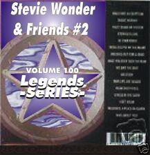 STEVIE WONDER Legends Karaoke CDG 15 Sgs UPTIGHT Superstition SIR DUKE I Wish