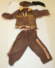 VINTAGE DAVY CROCKETT  CHILD'S  OUTFIT Coonskin Hat