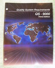 Quality System Requirements (QS-9000) 3rd Edition (AIAG)