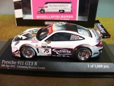 1/43 Minichamps Porsche 911 GT3 R #75 Prospeed Competition 24h Spa 2011 400 ...