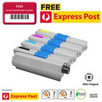 C332 MC363 Toner Cartridge With Chip for OKI C332dn MC363dn 332 363 C332 MC363