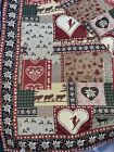 """Nordic Home Tapestry Wall Hanging Made in Belgium Tapestries 53"""" X 56"""""""